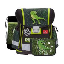 Ранец Classy Dinosaur с наполнением