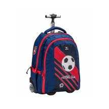 Рюкзак на колесах Easy-Go Football Club Red