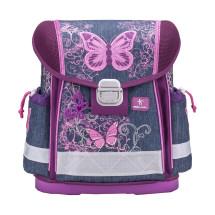 Ранец Classy Purple Flying Butterfly с наполнением