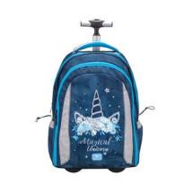 Рюкзак на колесах Easy-Go Blue Magic