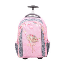 Рюкзак на колесах Easy-Go Ballerina