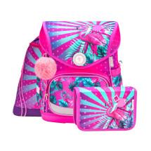 Ранец Compact Tropical Flamingo с наполнением