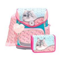 Ранец Compact Little Friend Meow с наполнением