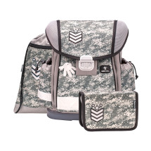 Ранец Classy Camouflage Grey с наполнением