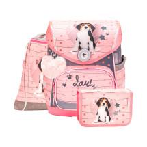 Ранец Compact Lovely Beagle с наполнением