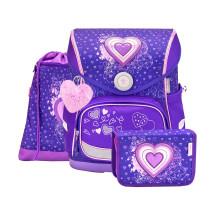 Ранец Compact Love Purple с наполнением