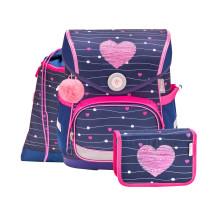 Ранец Compact Simple Heart с наполнением