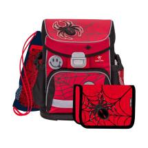 Ранец Mini-Fit Spider Red And Black с наполнением