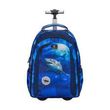 Рюкзак на колесах Easy-Go Lumi Shark