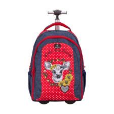 Рюкзак на колесах Easy-Go Daisy